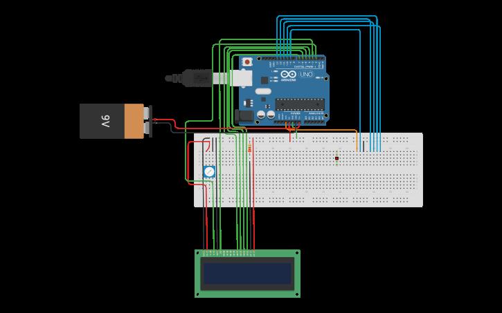 Circuit design RC522 nfc reader | Tinkercad