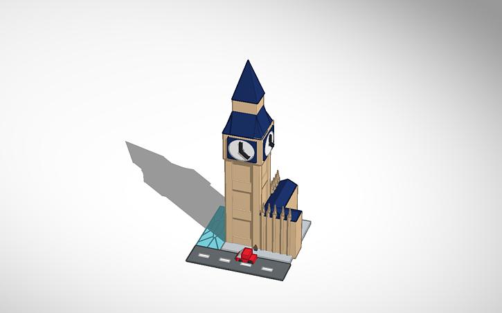 3D design big beng | Tinkercad