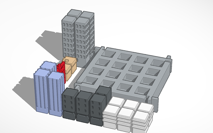 3D design build your city | Tinkercad