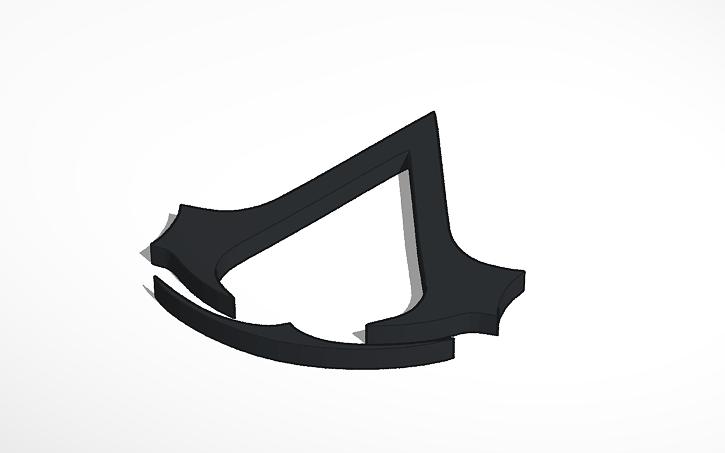 Assassins Creed Logo Tinkercad
