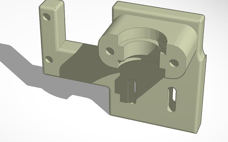 3D design TronXY X5S E3D V6 Mount Stock Endstop | Tinkercad