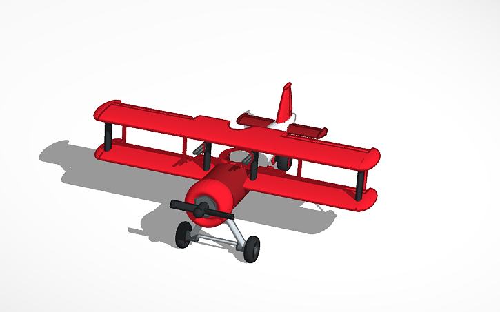 3d design bi plane tinkercad for Make 3d design online