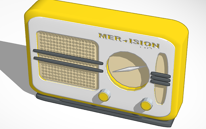 3D design Old Radio PL | Tinkercad