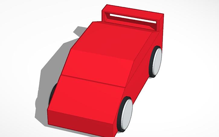 3d Design Sports Car Tinkercad