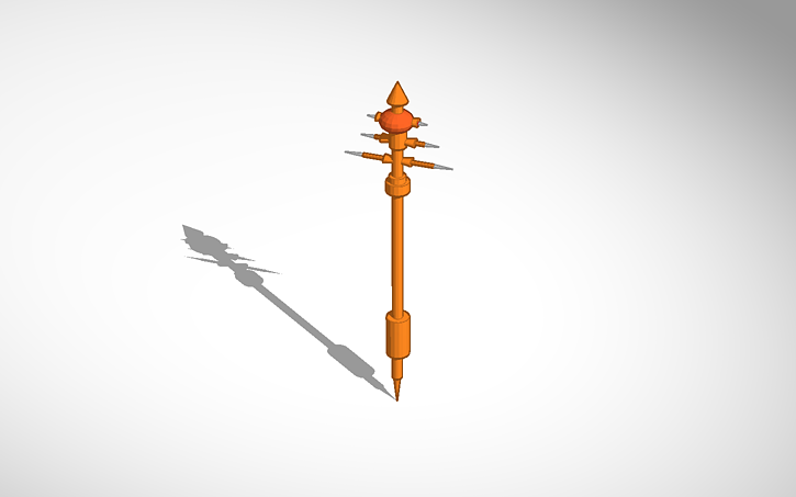 Assassin S Creed Artifact Series Stave Of Eden Tinkercad