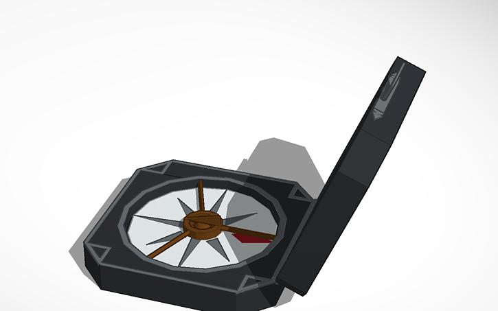 design Jack 3D 3D CompassTinkercad Sparrow's Jack design CompassTinkercad Sparrow's PkiTOXZu