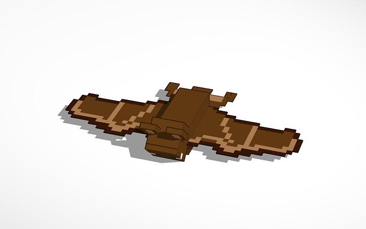3d Design Minecraft Bat Tinkercad