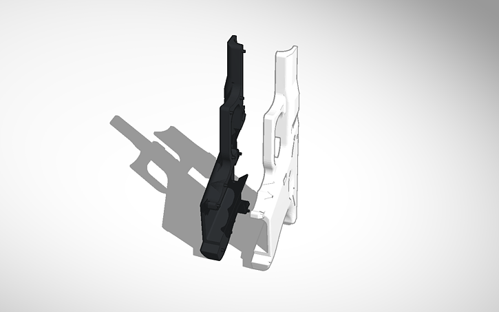 3D design Copy of glock 26 frame both sides | Tinkercad
