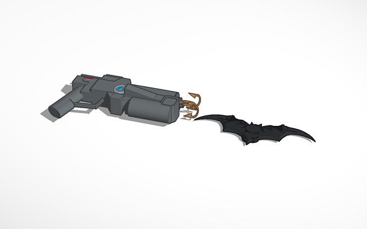 3D design Batarang And Grapple Gun   Tinkercad
