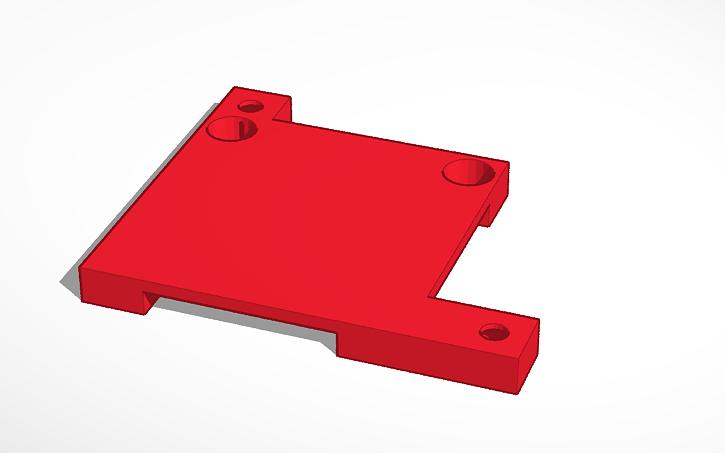 3D design Prusa i3 mk1 Blower Bracket | Tinkercad