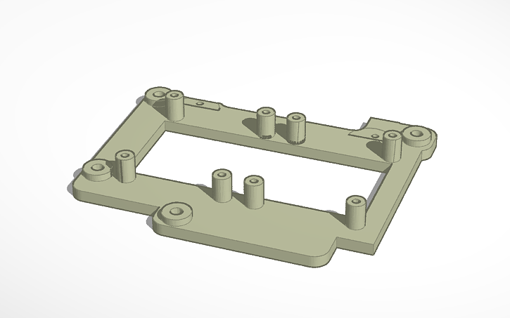 3D design support mosfet anycubic i3 mega   Tinkercad