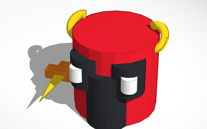 3D design Rust Bucket | Tinkercad