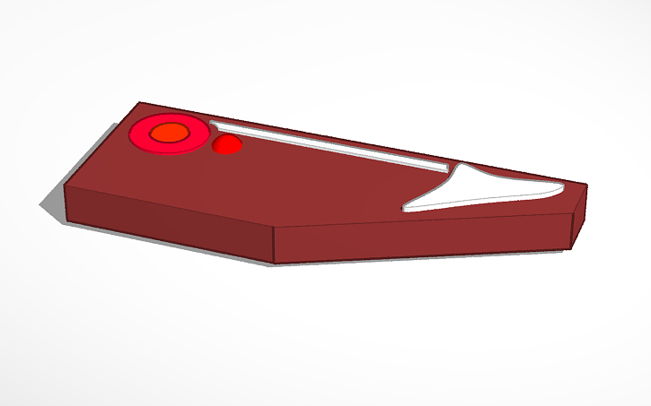 3D design ocr range rover evoque jack | Tinkercad