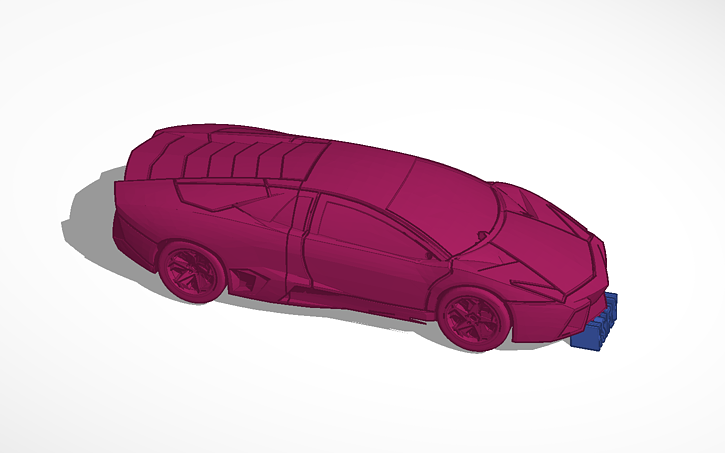 3d Design Ksi Fly For The Song Lamborghini Ft Pmoney Tinkercad