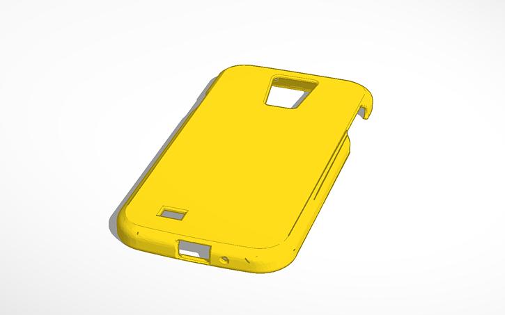 best loved b60e5 42cda 3D design Copy of Samsung Galaxy S4 Minecraft case | Tinkercad