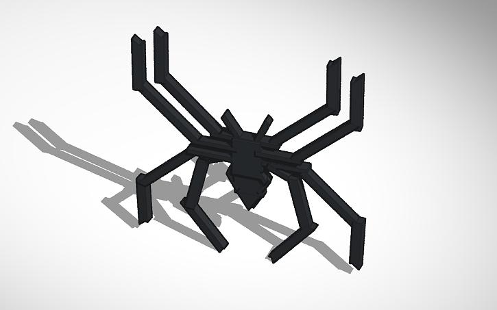 3d Design Spider Man Symbol Tinkercad