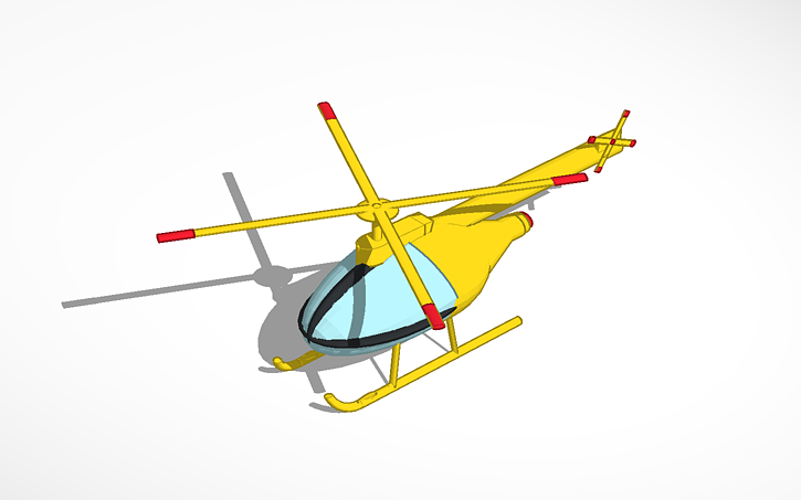 3d Design Helicopter Tinkercad: tinkercad 3d