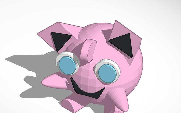 3D Origami Jigglypuff   Etsy   453x725