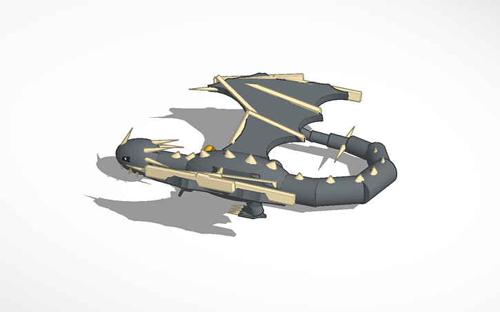 3D design Hungarian Horntail | Tinkercad