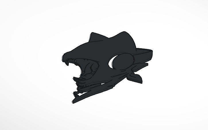 3D design Monstercat Uncaged | Tinkercad