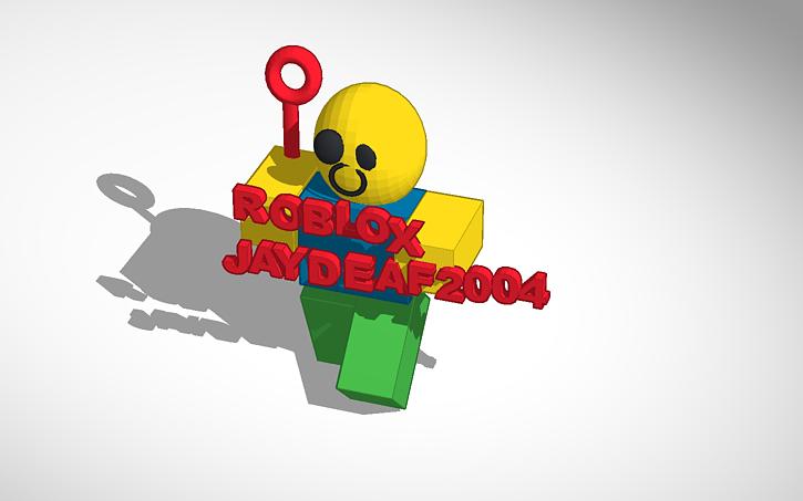 3D design Roblox Jaydeaf2004 | Tinkercad