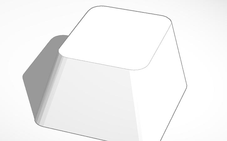 3D design Cherry MX Keycap (Round Stem)   Tinkercad