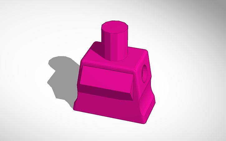 3D design Custom Female Lego Torso | Tinkercad