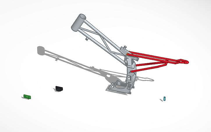 3D design pit bike frame | Tinkercad