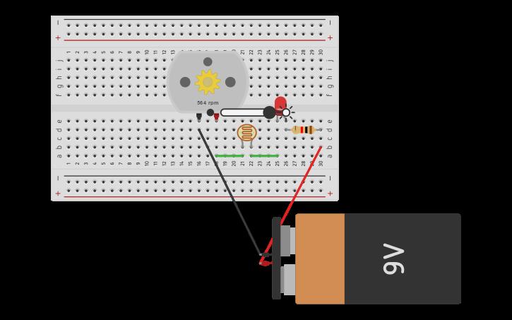 Circuito Serie : Circuit design primer circuito en serie tinkercad