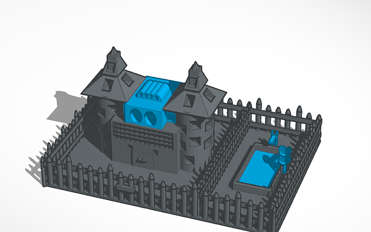 3d design haunted house tinkercad Tinkercad 3d