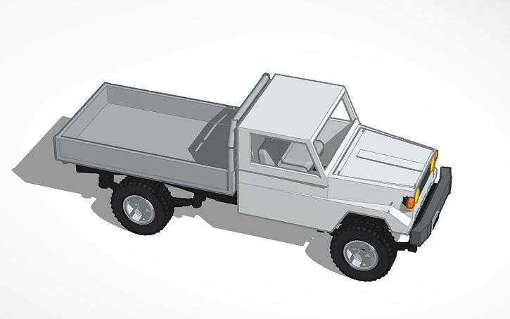 3D design 75 Series Landcruiser | Tinkercad