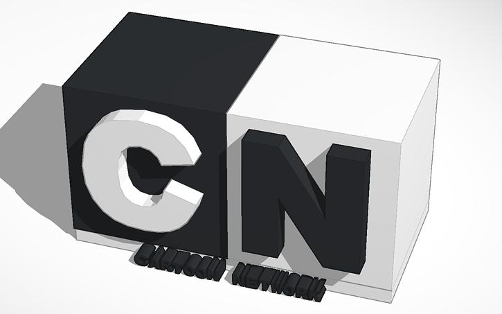 Cartoon Network Logo Tinkercad