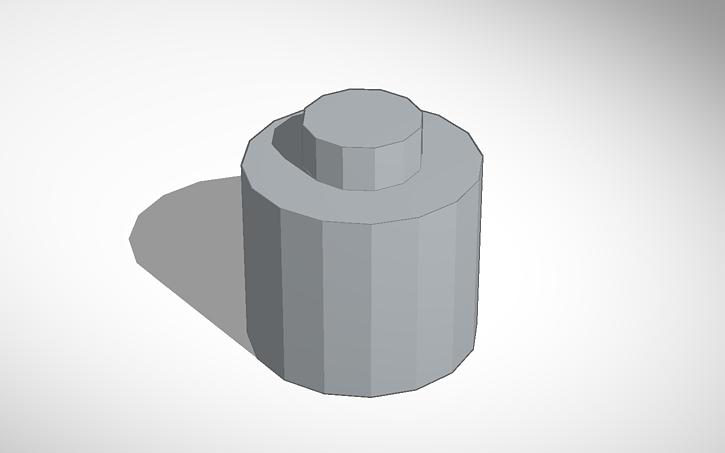 3d design lego head template tinkercad