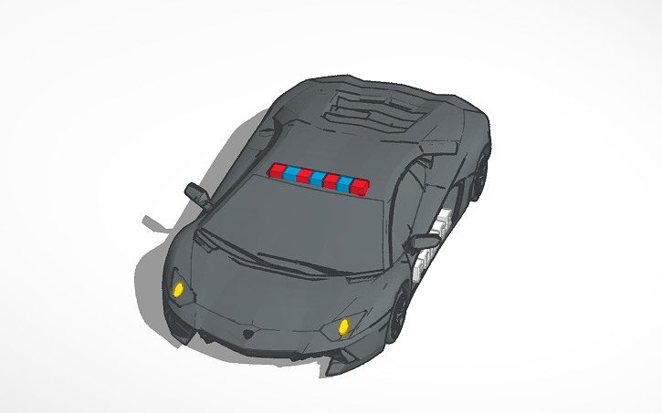 quality design 0345f 52c78 3D design iPhone 5c Lambo Case | Tinkercad