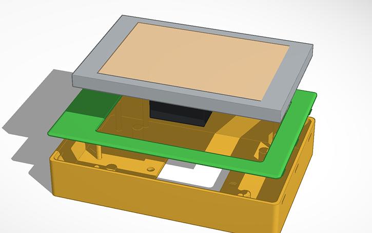 3d Design Case Tablet Mount Tinkercad