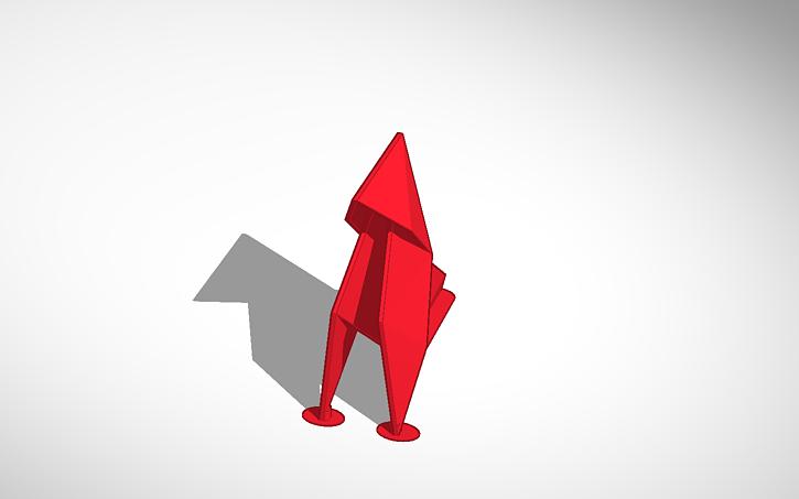 3D Design Origami Crane