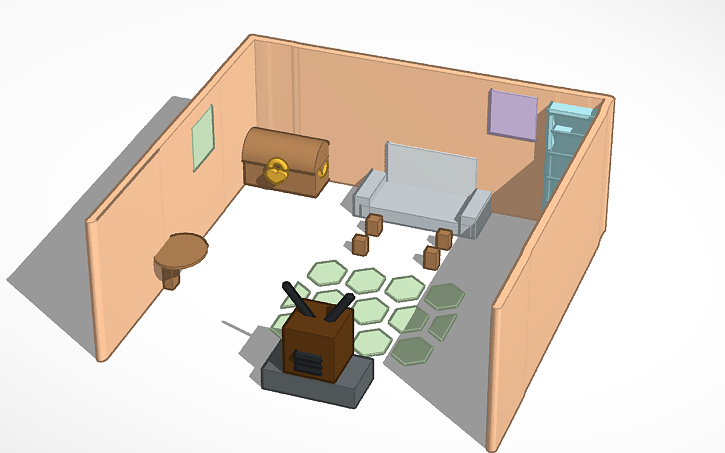 Living Room Tinkercad