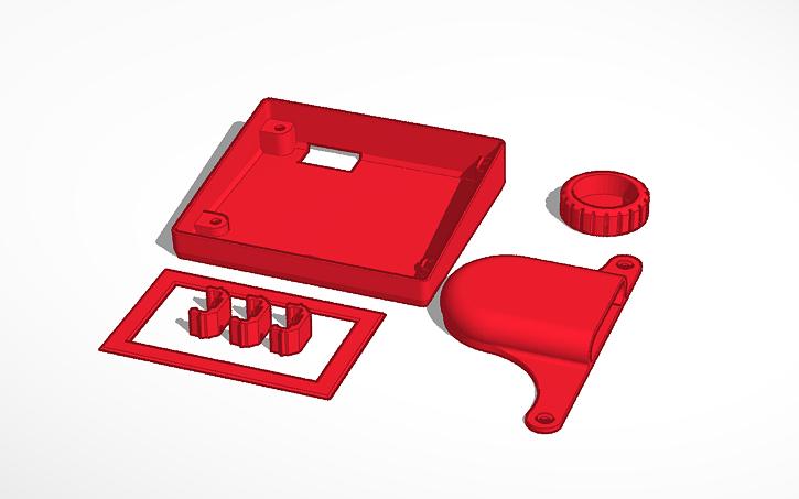 3D design Ender 3 Upgrade Kit AIO | Tinkercad